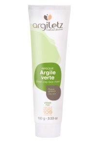 100%ナチュラル グリーンクレイマスク・オイリー肌向け 100g Argiletz/アルジレッツ