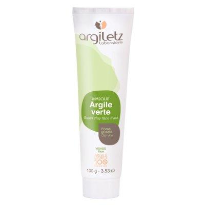 画像1: 100%ナチュラル グリーンクレイマスク・オイリー肌向け 100g Argiletz/アルジレッツ