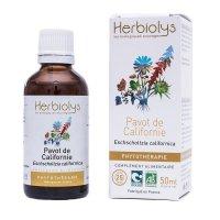BIOハナビシソウ (カリフォルニアポピー) マザーティンクチャー 睡眠力アップ 50ml Herbiolys / エルビオリス