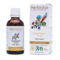 BIOカシスの果実 マザーティンクチャー 腹痛やリウマチのケアに 50ml Herbiolys / エルビオリス