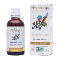 BIO真正ラベンダー マザーティンクチャー 鎮静作用、リラックス、抗吐き気 50ml Herbiolys / エルビオリス