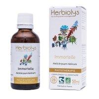 BIOヘリクリサム(イモーテル) マザーティンクチャー 血液循環アップや抗腺腫に  50ml Herbiolys / エルビオリス