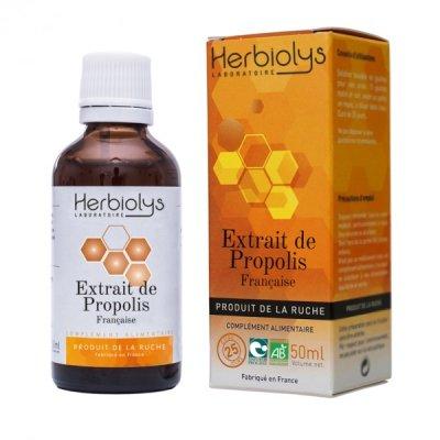 画像1: BIOプロポリス・ティンクチャー 免疫力アップ 50ml Herbiolys / エルビオリス