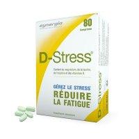 D-Stress ストレス&疲労軽減 サプリメント80粒・Synergia / スィネルジア