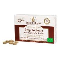 BIOイエロー プロポリスサプリメント / 美肌作りをサポート 40錠 Ballot Flurin / バロフリュラン