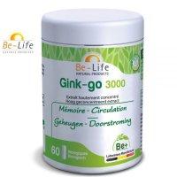 BIOギンコー(イチョウ)3000 記憶力&血流アップサプリ 60錠 Be Life / ビーライフ