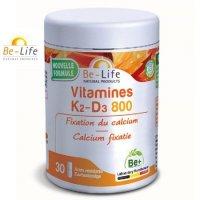 ビタミンK2&D3 800サプリ・骨粗しょう症予防に 30粒入  Be Life / ビーライフ