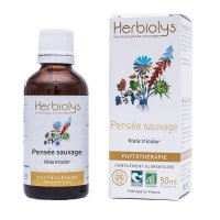 BIOワイルドパンジー マザーティンクチャーお肌の浄化、美肌作りに  50ml Herbiolys / エルビオリス