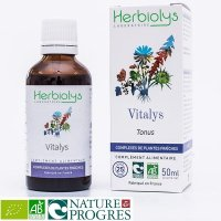 【ジェモレメディ】BIOヴィタリス・エナジーアップ、疲労回復 50ml (複合植物) Herbiolys / エルビオリス