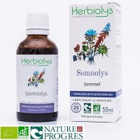 【ジェモレメディ】BIOソムノリス・睡眠促進・鎮静に 50ml (複合植物) Herbiolys / エルビオリス