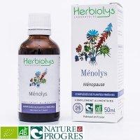 【ジェモレメディ】BIOメノリス・女性ホルモンのバランスを整える、更年期前後の症状を緩和 50ml (複合植物) Herbiolys / エルビオリス
