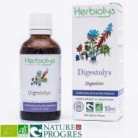 【ジェモレメディ】BIOダイジェストリス・消化機能の向上に 50ml (複合植物) Herbiolys / エルビオリス