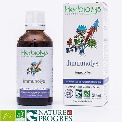 画像1: 【ジェモレメディ】BIOイミノリス・ウィルスからの体の保護、免疫力アップに 50ml (複合植物) Herbiolys / エルビオリス