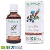 【ジェモレメディ】BIOセイヨウスノキ(ビルベリー) 視力改善、血糖値低下に 50ml (単体植物) Herbiolys / エルビオリス