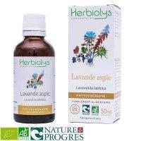 BIOラベンダースピカ 傷や痛みの鎮静作用にマザーティンクチャー 50ml Herbiolys / エルビオリス