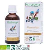 BIOキンミズヒキ マザーティンクチャー 喉や咽頭炎を緩和、収れん性  50ml Herbiolys / エルビオリス