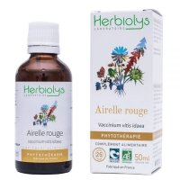 BIOコケモモ(カウベリー) マザーティンクチャー 更年期症状緩和や骨の強化に 50ml Herbiolys / エルビオリス