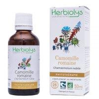 BIOローマンカモミール マザーティンクチャー ストレス解消、消化促進 50ml Herbiolys / エルビオリス