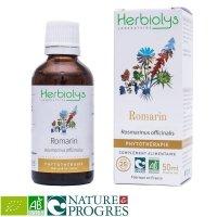 BIOローズマリー 肝臓のデトックスや滋養強壮に マザーティンクチャー 50ml Herbiolys / エルビオリス