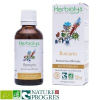BIOローズマリー デトックスや滋養強壮に マザーティンクチャー 50ml Herbiolys / エルビオリス