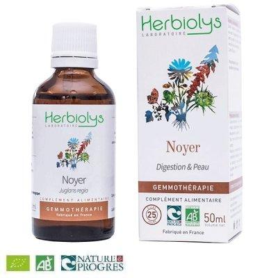 画像1: 【ジェモレメディ】BIOクルミ・腸内フローラ活性化や皮膚のケアやに 50ml (単体植物) Herbiolys / エルビオリス