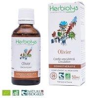 【ジェモレメディ】BIOオリーブ 血圧とコレステロール値を安定化 50ml (単体植物) Herbiolys / エルビオリス