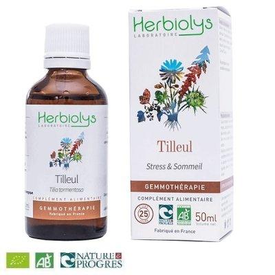 画像1: 【ジェモレメディ】BIOギンヨウボダイジュ(リンデン)・ストレス緩和や睡眠促進に 50ml (単体植物) Herbiolys / エルビオリス