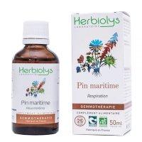 【ジェモレメディ】BIOフランスカイガンショウ  呼吸器疾患や食欲促進に 50ml (単体植物) Herbiolys / エルビオリス