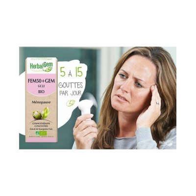 画像2: ファム50+ジェム / 閉経の不快感、更年期症状を緩和 50ml・Herbalgem / ハーバルジェム