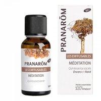 ディフュージョン精油 メディテーション (瞑想) 30ml Pranarom / プラナロム