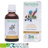 BIO西洋ノコギリソウ マザーティンクチャー消化促進や生理痛の緩和に 50ml Herbiolys / エルビオリス