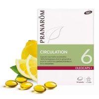 BIOオレオカプス + 6 精油カプセル・血液循環サポート 30粒 Pranarom/プラナロム