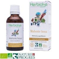 BIOオレゴングレープ(ヒイラギメギ) マザーティンクチャー乾癬やにきびケアに  50ml Herbiolys / エルビオリス