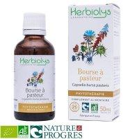 BIOナズナ マザーティンクチャー 生理痛緩和、止血に 50ml Herbiolys / エルビオリス