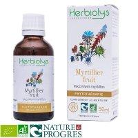 BIOセイヨウスノキ (ビルベリー果実) マザーティンクチャー 視力改善や抗酸化作用  50ml Herbiolys / エルビオリス
