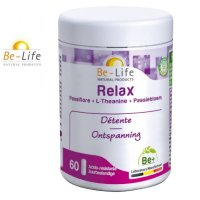 リラックス&睡眠サポート サプリ(パッションフラワー&Mg) 60粒入  Be Life / ビーライフ