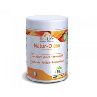 ナチュールD (ビタミンD) サプリ 免疫力アップや骨の強化に  200錠 Be Life / ビーライフ