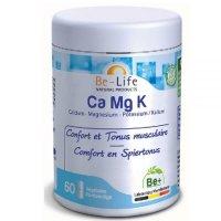 カルシウム・マグネシウム・カリウムサプリ・骨や筋肉の強化に 60粒入  Be Life / ビーライフ