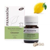 BIOレモン・パール精油カプセル (抗菌や免疫アップに)  60粒 Pranarom / プラナロム