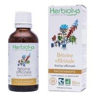 BIOベトニー (カッコウチョロギ) マザーティンクチャー消化器疾患をサポート 50ml Herbiolys / エルビオリス