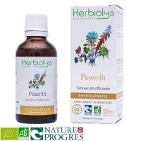 BIO西洋タンポポ マザーティンクチャー 肝臓デトックス・利尿作用  50ml Herbiolys / エルビオリス