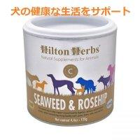 シーウィード&ローズヒップ サプリメント(犬の健康をサポート) 125g Hilton Herbs / ヒルトンハーブ
