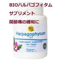 BIOハルパゴフィタム (デビルズクロー) サプリメント・関節痛の緩和に 120粒・Nature&Partage / ナチュール&パータージュ