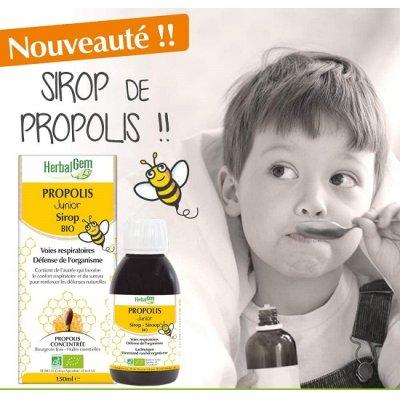 画像2: BIOプロポリスエキス・ジュニア (3歳~) シロップ 150ml・Herbalgem / ハーバルジェム