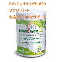 BIOエキナセロラ1600サプリ・免疫力アップをサポート 60粒入  Be Life / ビーライフ