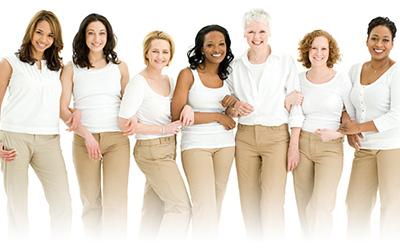 女性の快適な生活をサポート