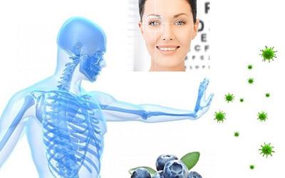 身体の保護(免疫力アップ)及び目や視力ケア